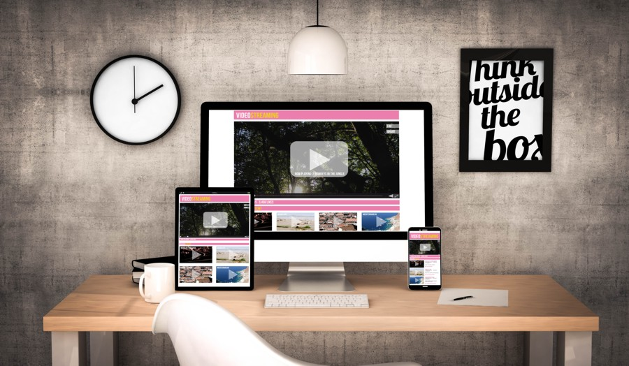workplace with responsive design examples